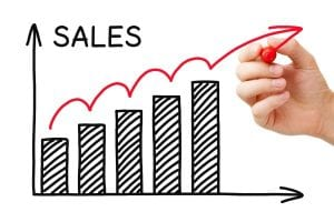 sales performance increase